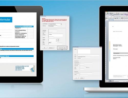 Wir erstellen und programmieren Ihnen Word-Dokumentenvorlagen