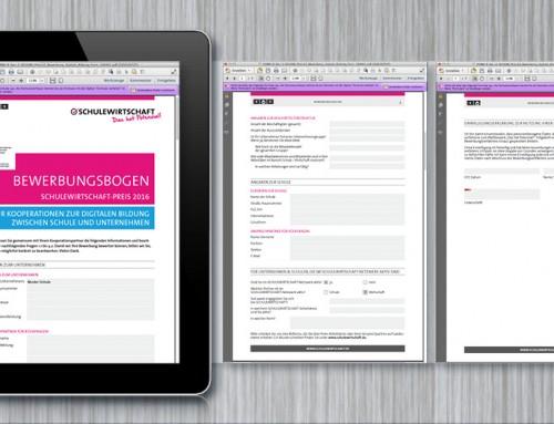 Beschreibbare PDF-Formulare erstellen
