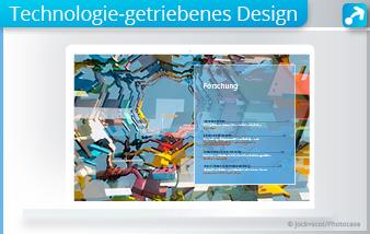 Abbildung zum Trend des technologie-getriebenen Designs