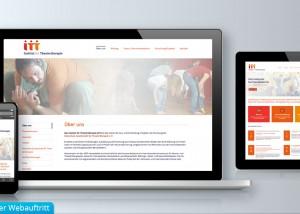 Erstellung und Webdesign von responsiven Webseiten