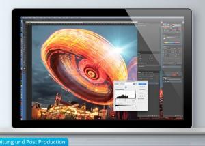 Bildbearbeitung und Post Production im Grafikdesign