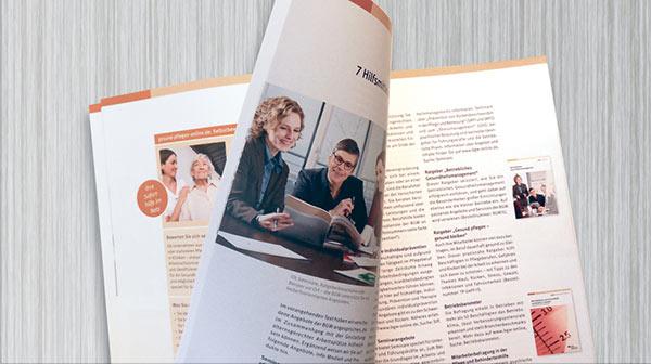 Gesundheits- und Pflege-Broschüre