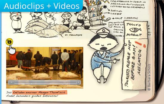 Audioclips und Video bei interaktiven PDF