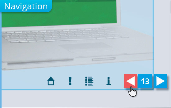 Navigation bei interaktiven PDF