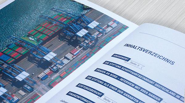Jahresbericht Design-Beispiel