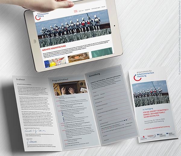 Veranstaltungsdesign Webdesign