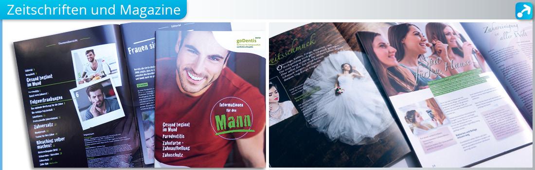 Zeitschriften und Magazine