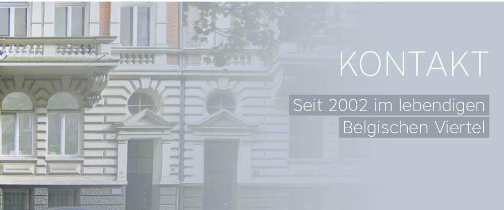 Kontakt des Grafikdesignbüros in der Brüsseler Straße 86 in 50672 Köln