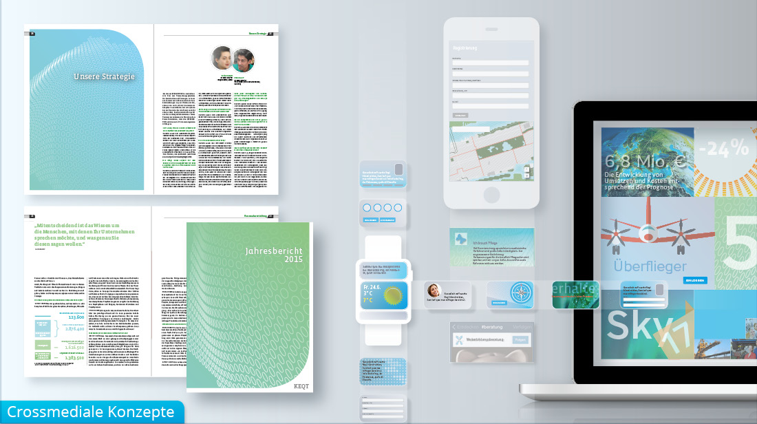 Crossmediale Konzepte für Printmedien und digitale Medien