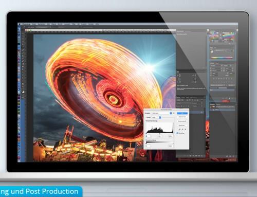 Produktion und Service im Grafikdesign