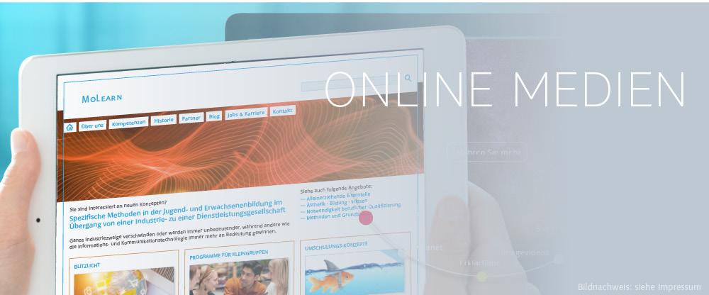 Online Medien mit responsiven Webdesign