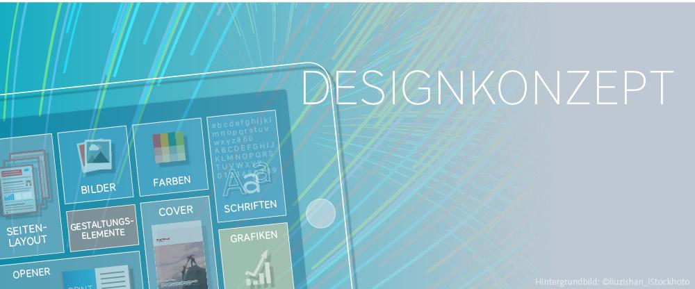 Wie wir Ihnen ein wirkungsvolles Designkonzept erstellen!