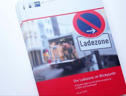 """Studie der IHK Köln """"Die Ladezone im Blickpunkt"""""""