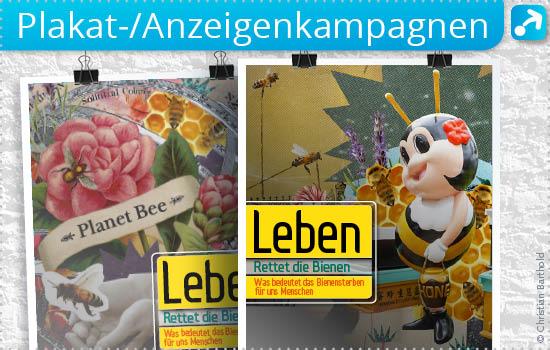 Storytelling Plakat- und Anzeigenkampagnen