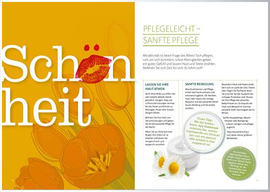 Magazin Inspiration Typografie