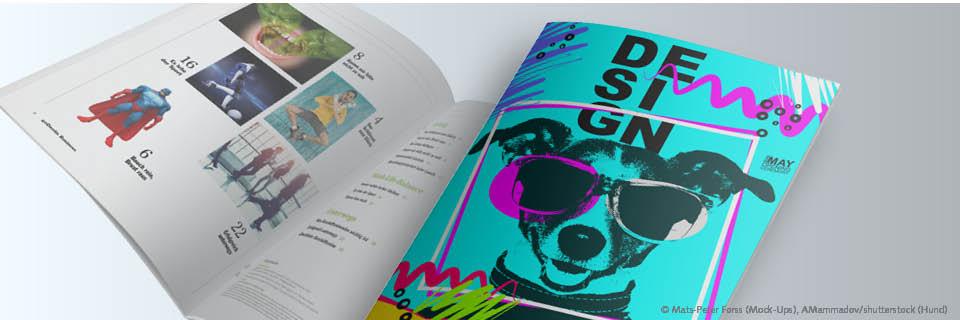 Magazindesign Trend Opener