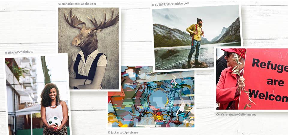 Magazindesign Trend Bilder