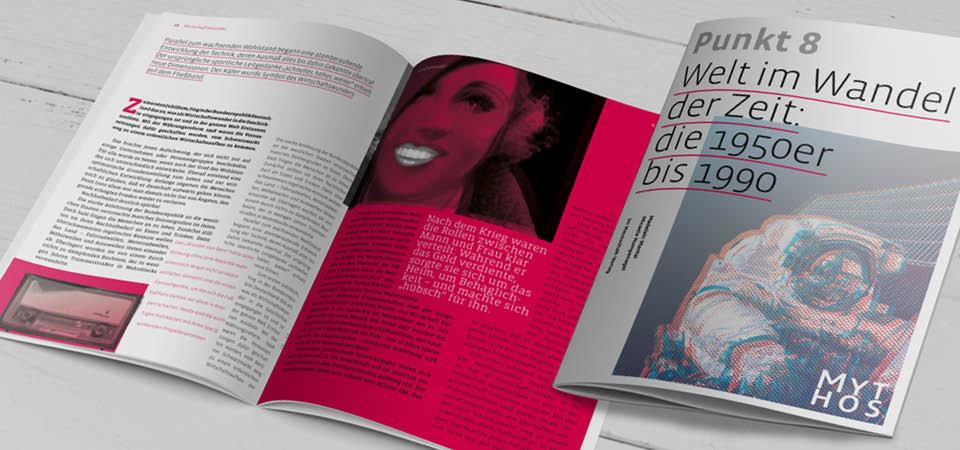 Magazindesign Trend Typografie