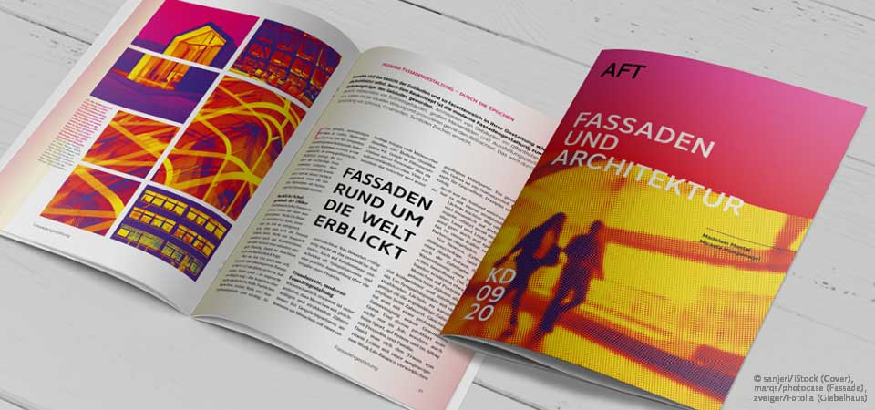 Magazindesign Trend Verläufe + Duotone