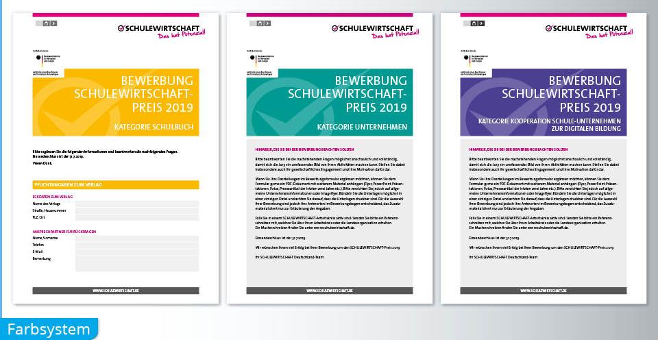 PDF Formular Farbsystem