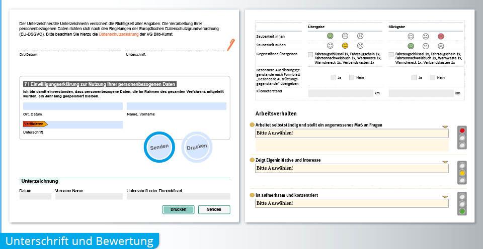 PDF Formular Unterschrift