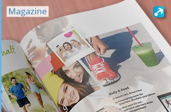 Design von Kundenmagazinen