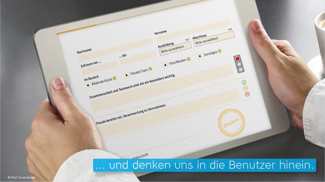 ausfüllbares interaktives PDF Formular BGW