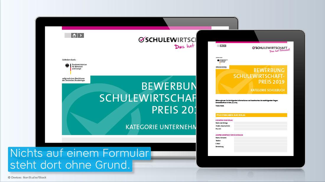 ausfüllbares PDF Formular SCHULEWIRTSCHAFT