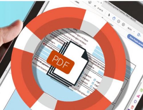 Hilfe beim Ausfüllen beschreibbarer Formular-PDFs