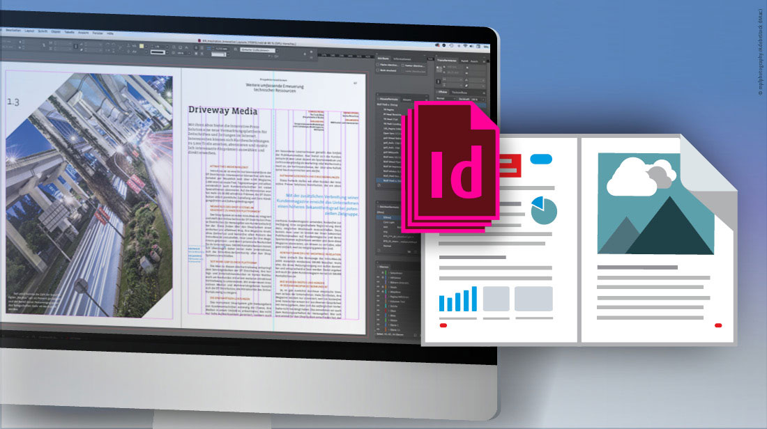 InDesign-Templates als Layoutvorlage