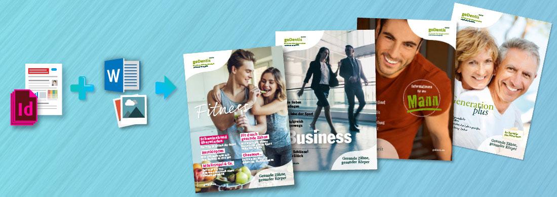 InDesign-Templates für Magazine