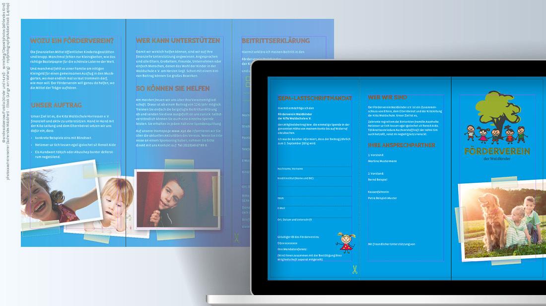 InDesign-Templates für Flyer